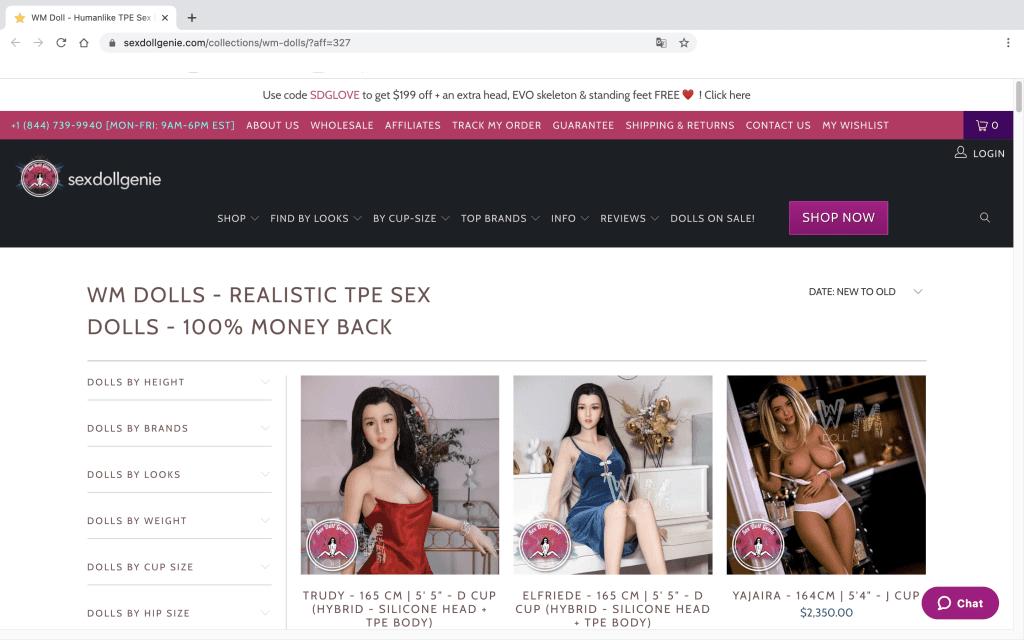 Sexdollgenie meilleure poupee sexuelle realiste