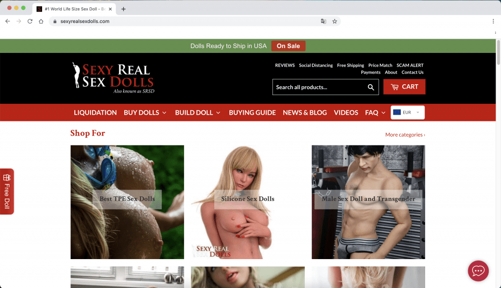 sexyrealsexdolls poupee sexe avis comparatif